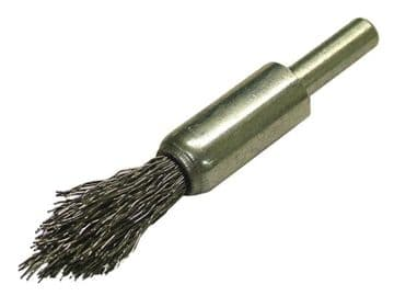 Wire End Brush 12mm Pointed End